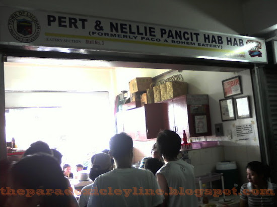 Pert & Nellie Pancit Habhab store in Lucban