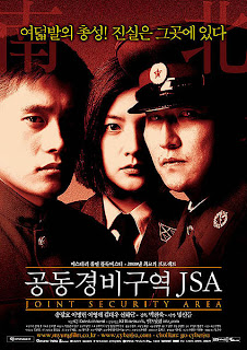 Joint Security Area (JSA) movie poster