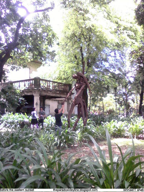 Statue in Fort Santiago, Intramuros