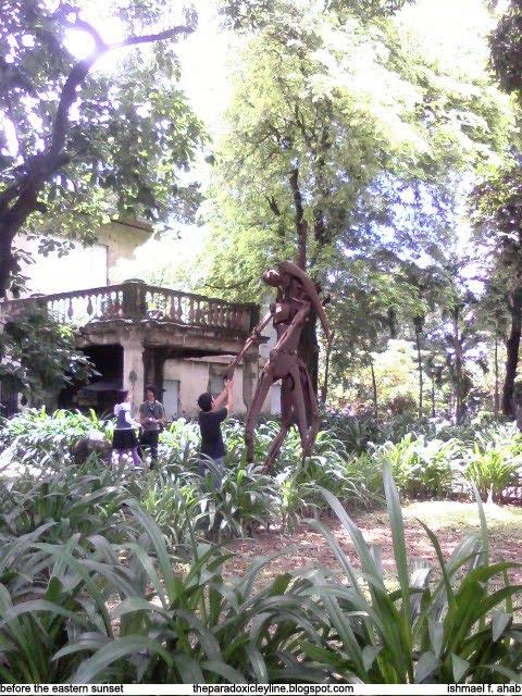Statue in Fort Santiago, Intramuros