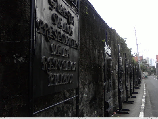 Gallery of Philippine presidents in Intramuros
