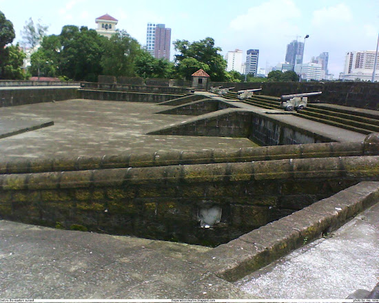 On the Walls of Intramuros