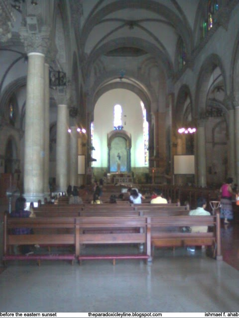 Inside Manila Cathedral