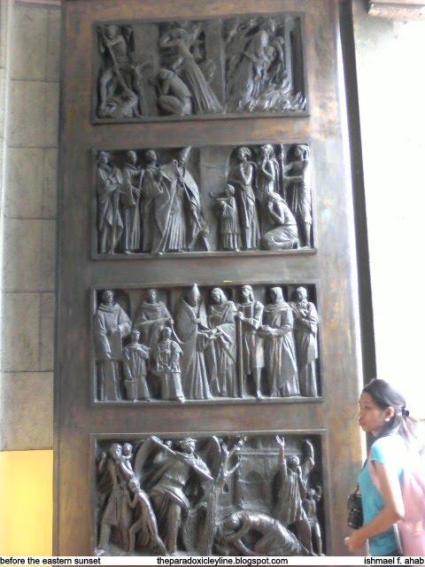Door of Manila Cathedral