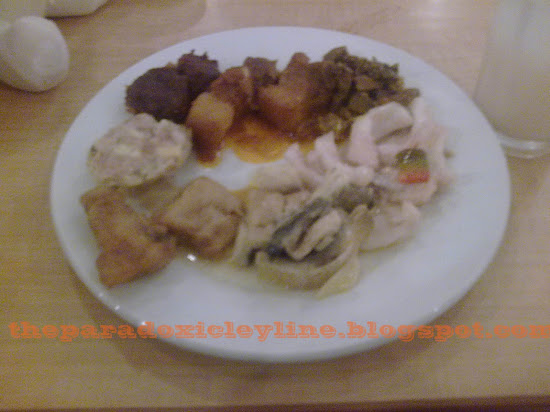 My plate at Kamayan Buffet