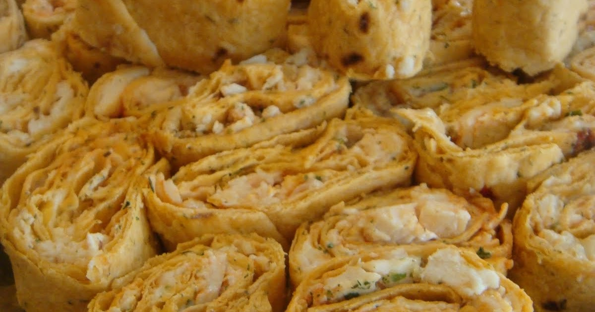 50 Boxes Of Pasta: Buffalo Chicken Pinwheels