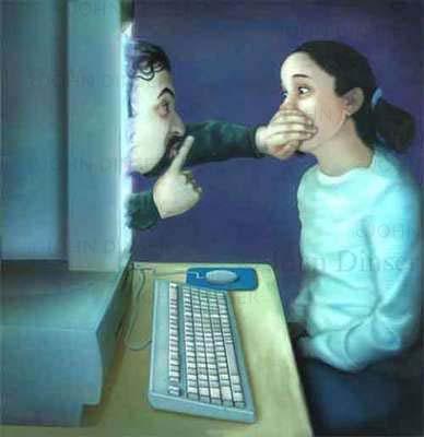 Resultado de imagem para perigos na internet