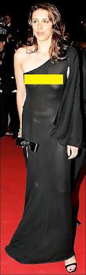 Alexandra Kerry DUI - Alexandra Kerry See Through Dress