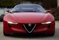 Alfa Romeo Spider designed by Pininfarina (2uettottanta) front