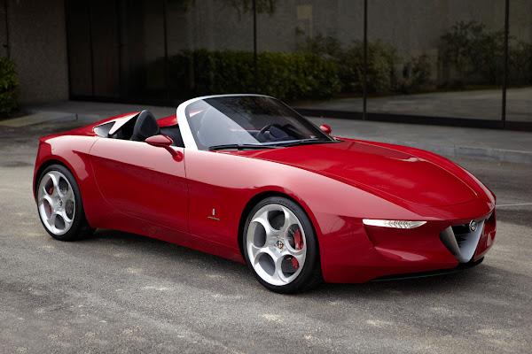Alfa Romeo Spider designed by Pininfarina (2uettottanta)