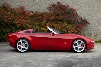 Alfa Romeo Spider designed by Pininfarina (2uettottanta) side