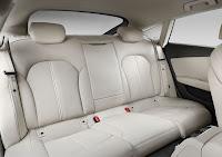 The New Audi A7 Sportback (2010) back interior