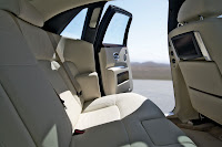 Rolls-Royce Ghost back interior