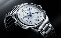 Longines Master Collection Retrograde steel