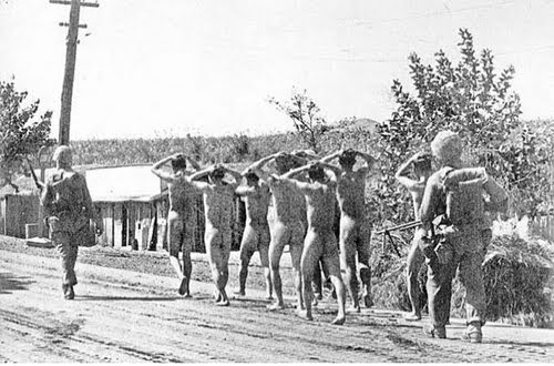 Male nude concentration camps apologise, but