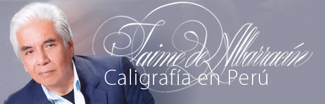 Jaime de Albarracn / Caligrafa en Per