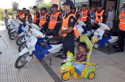 Nuevas motos de la Bonaerense