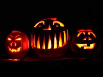 Halloween in Canada - jack-o'-lanterns