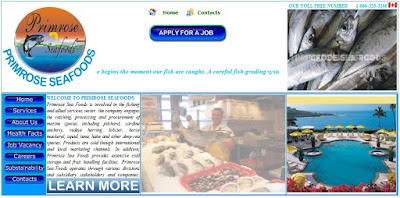 Primrose Sea Foods Co. Ltd Canada  Job Scam