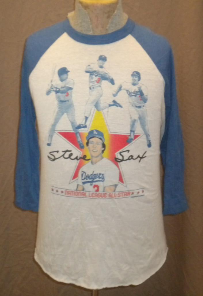 dodgers blue heaven ebay vintage sax fernando  shirt