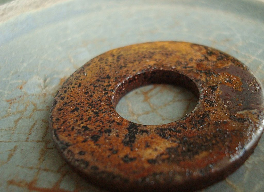 iron rusting Rust is a general term for a series of iron oxides, usually red oxides, formed by the reaction of iron with oxygen in the presence of water or air moisture several forms of rust are distinguishable visually and by spectroscopy, and form under dif.