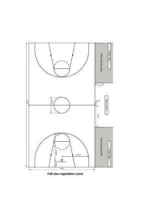 Lapangan Bola Basket