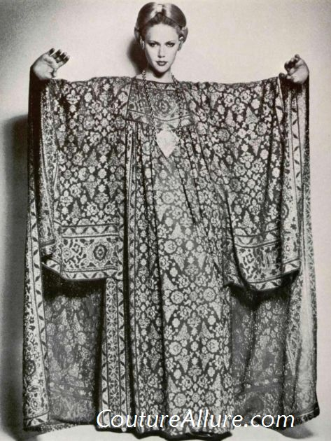 Couture Allure Vintage Fashion Exotic Faces 1976