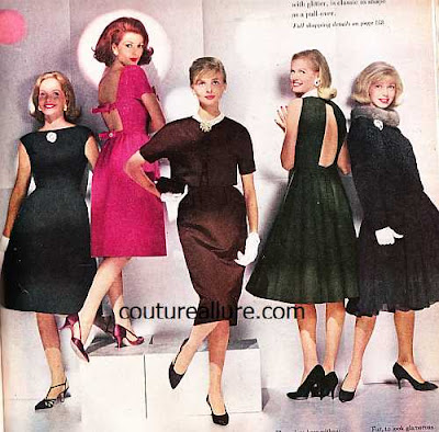 Vintage Fashion Show on Couture Allure Vintage Fashion  Party Fashion    La 1959