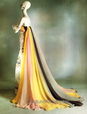 jean desses, evening gown, 1954
