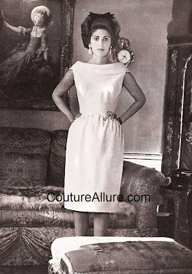 Baroness Marie-Hlne de Rothschild, Givenchy dress