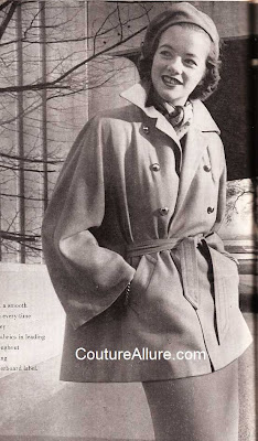 1940s swagger jacket