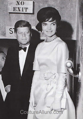 jacqueline kennedy, evening gown, pre-inauguration gala