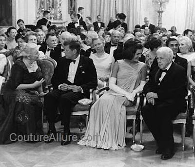 Jackie Kennedy Fashion Icon on Couture Allure Vintage Fashion  Jacqueline Kennedy Evening Gowns