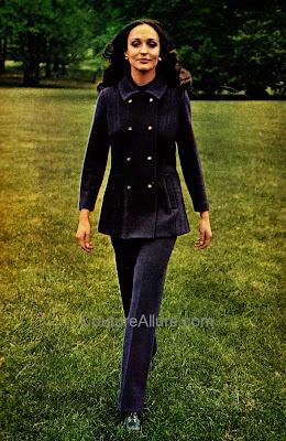 vintage pantsuit, 1969