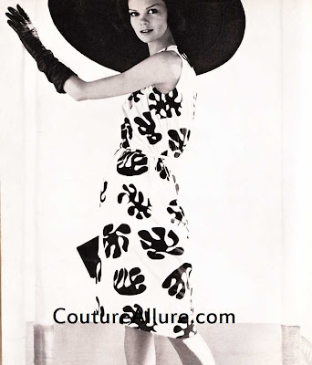 1961, b.h. wragge dress, mr. john hat