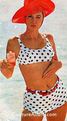 1964, catalina swimsuit, suzy parker