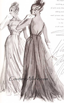 1963, frank starr evening gown