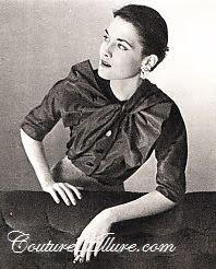 schiaparelli blouse, 1950
