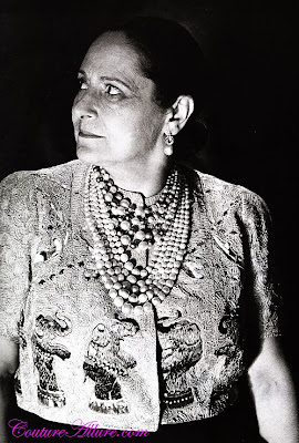 helena rubinstein, schiaparelli, 1938, circus collection