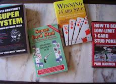 A minha colecção de 7 Card Stud Books