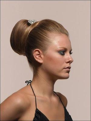 Şık Bayanlara Topuz Saç Modelleri