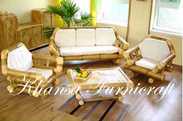 Bamboo Gazebo and Bamboo Furniture: Living Room - Bamboo Sofa 02