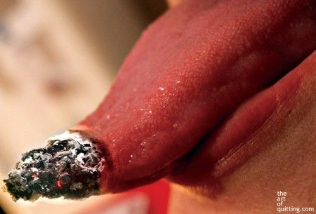 Может задержка бросила курить