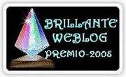 Premio Brillante Weblog