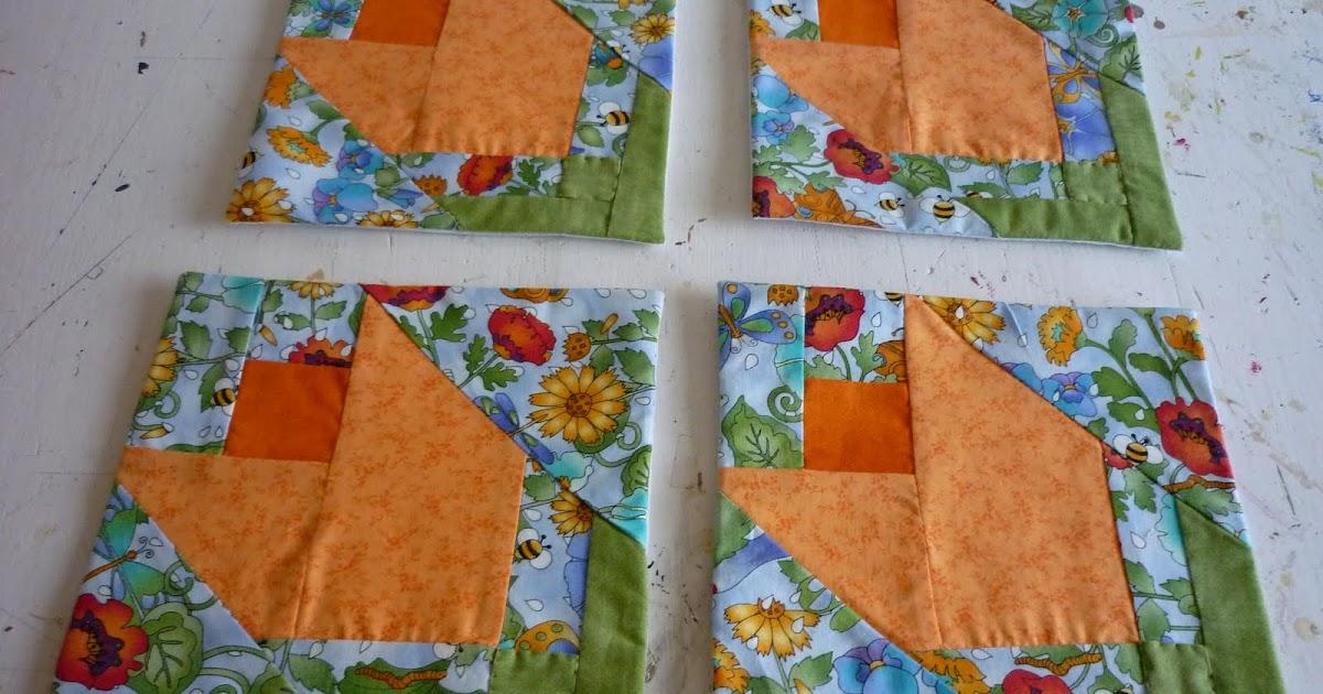 Casita del patchwork tulipanes cortinas y carpeta - La casita del patchwork ...