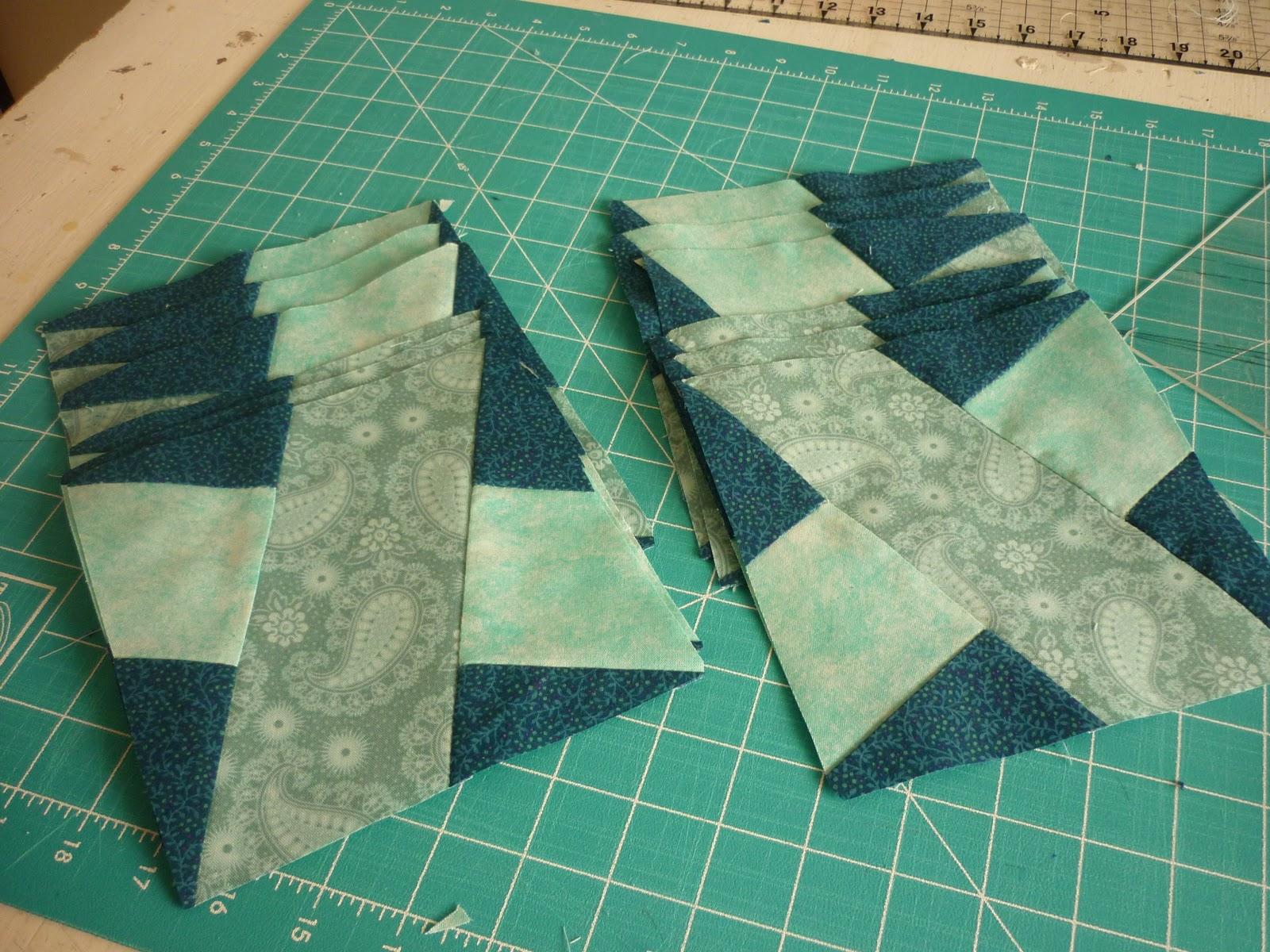 Casita del patchwork camino de mesa x block - Camino mesa patchwork ...
