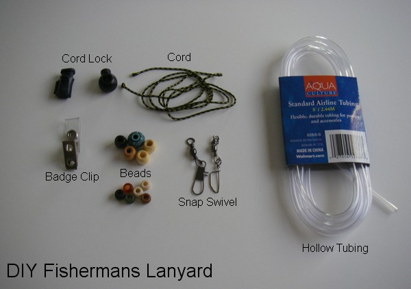 Flytying new and old diy fisherman 39 s neck lanyard for Diy fly fishing