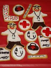 """Cookies de la """"Cruz Roja"""""""