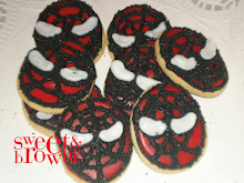 Cookies cabeza Spiderman