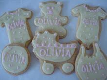 cookies nacimiento Olivia